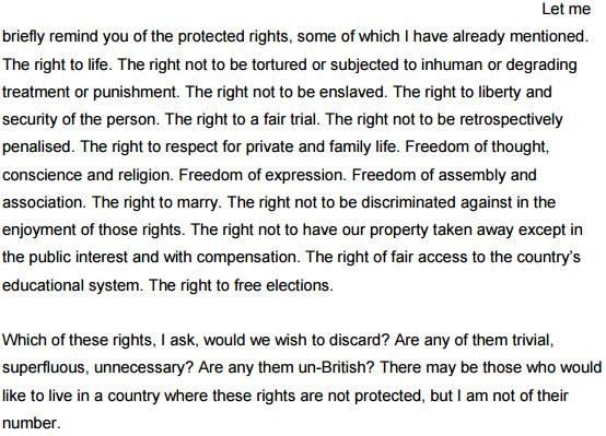 "Shoaib M Khan on Twitter: ""Lord Bingham: ""Which of these rights would we wish to discard? Are any of them trivial or unnecessary"