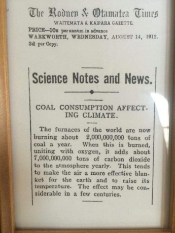 1912 | Science Notes and News.  COAL CONSUMPTION AFFECTING CLIMATE