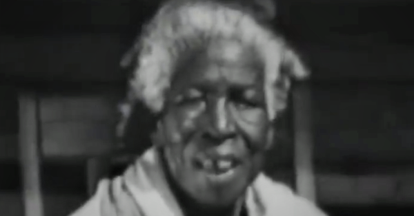Found on film: the last survivor of the final slave ship from Africa to the US. Her name was Redoshi