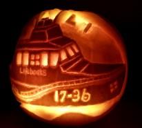 Amazing pumpkins for RNLI