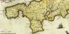 1646 | Cornvbia sive Cornwallia | Joan Blaeu