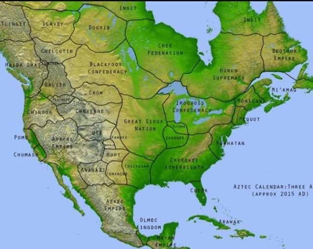 America before colonisation....