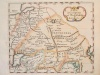 """Empire de Mogol,"" a miniature map by Robert Morden, from his 'A Description of the World', London, 1688"