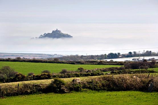 St Michaels Mount in the mist.... April 2015
